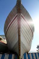 resting boat