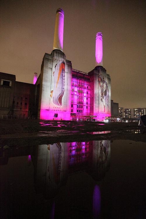 battersea power station, Nike