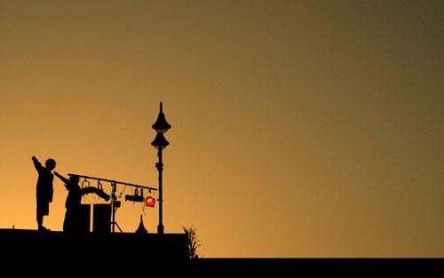 nablus sunset