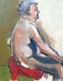 Fat Man Seated