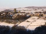A Village in Winter