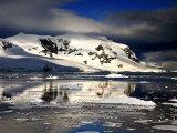 Antarctic Mountain Reflection 1