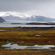 Mountains at Ny-Alesund