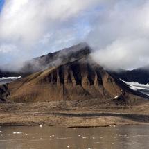 Mist Above the Glacier