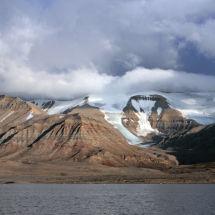 Low Cloud Over the Glacier