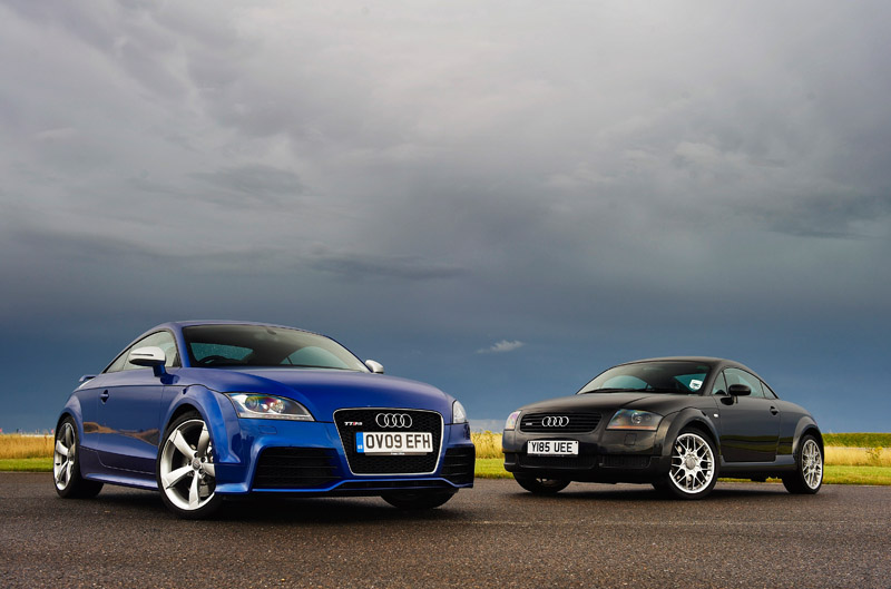 Audi TT old & new
