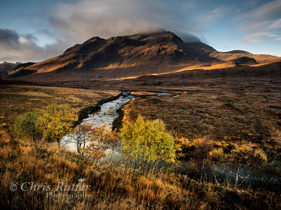 Autumn colour Glen Sligachan