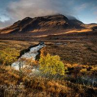 Autumn colour Glen Sligachan