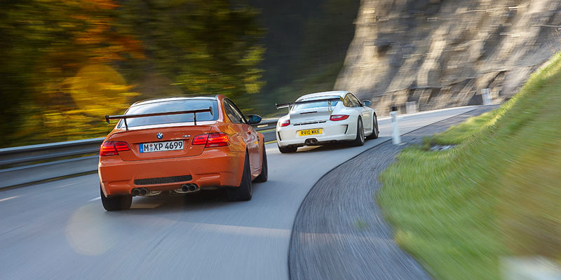 BMW M3 GTS & Porsche 911 GT3RS