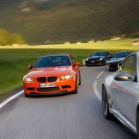 BMW M3 GTS group test