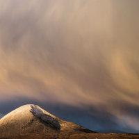 Bheinn na Caillich snowstorm