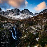 Bla Bheinn waterfall