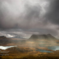 Cloud and mood from Stac Pollaidh