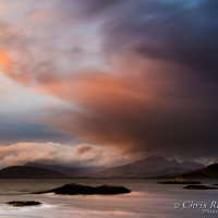 Cuillin cloud sunset