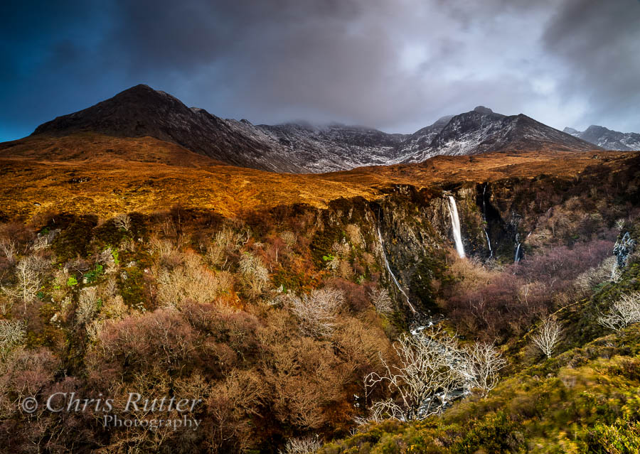 Eas Mor waterfall Glenbrittle