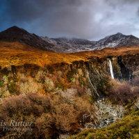 Eas Mor waterfall Glenbrittle