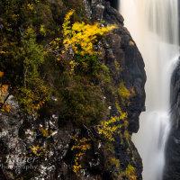 Falls of Kirkaig detail