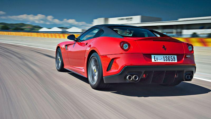 Ferrari 599 GTO track