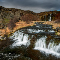 Gjain gorge waterfalls