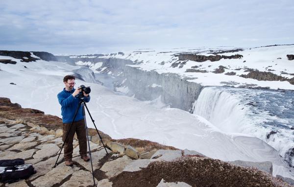 Shooting Dettifoss, Iceland 2014