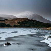 Loch Cill Chriosd frozen