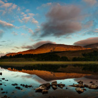 Loch Cill Chriosd panorama