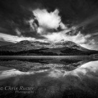 Loch Cill Chriosd mono reflection