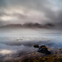 Mist and reflection Loch Slapin