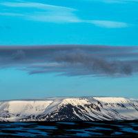 Mountain Myvatn area