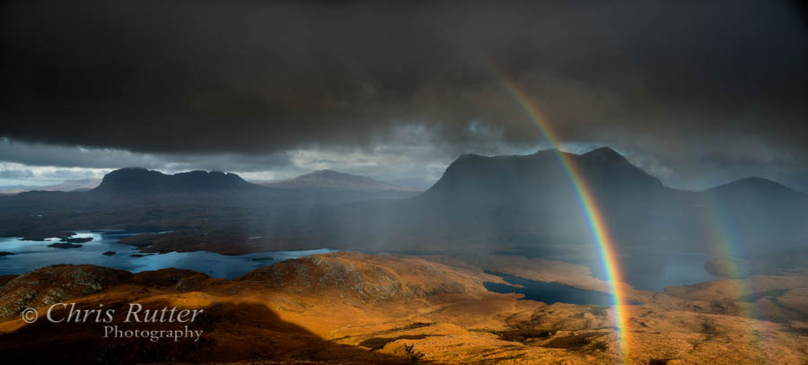 Rainbow from Stac Pollaidh
