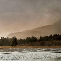 Snow Loch Cill Chriosd
