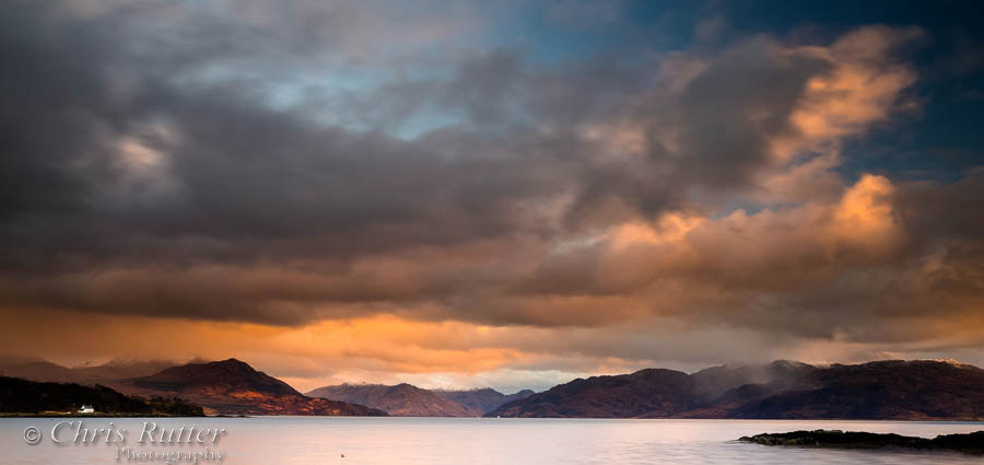 Sound of Sleat sunset