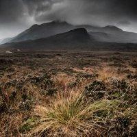 Storm contrast Glen Sligachan