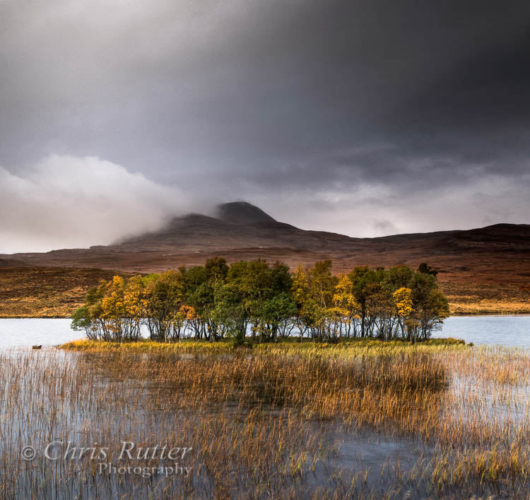 The Autumn island Assynt