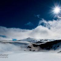 Viti crater snow