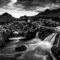 Waterfall, Allt Dearg Mor mono