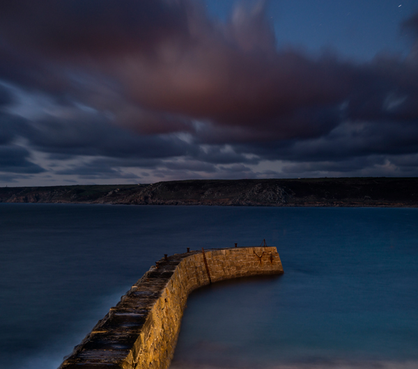 Sennen Cove jetty, Cornwall