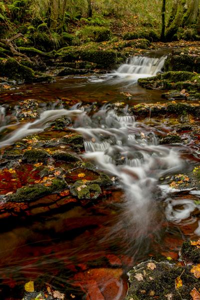 Cascade, Afon Pyrddin, South Wales