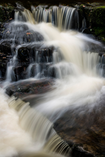 Waterfall detail, South Wales
