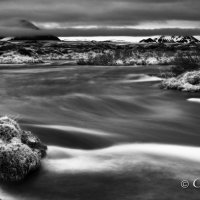 laxa river iceland bw 1