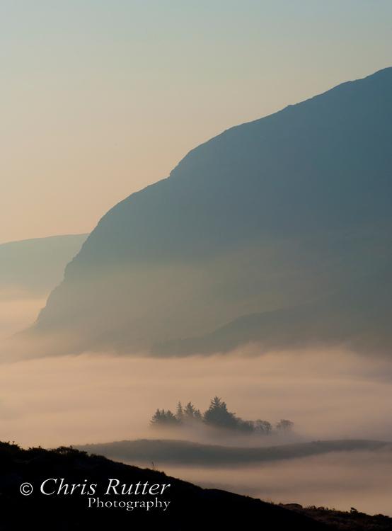 mist snowdonia