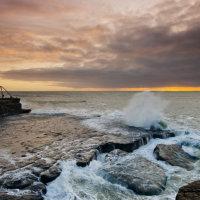 portland bill sunrise