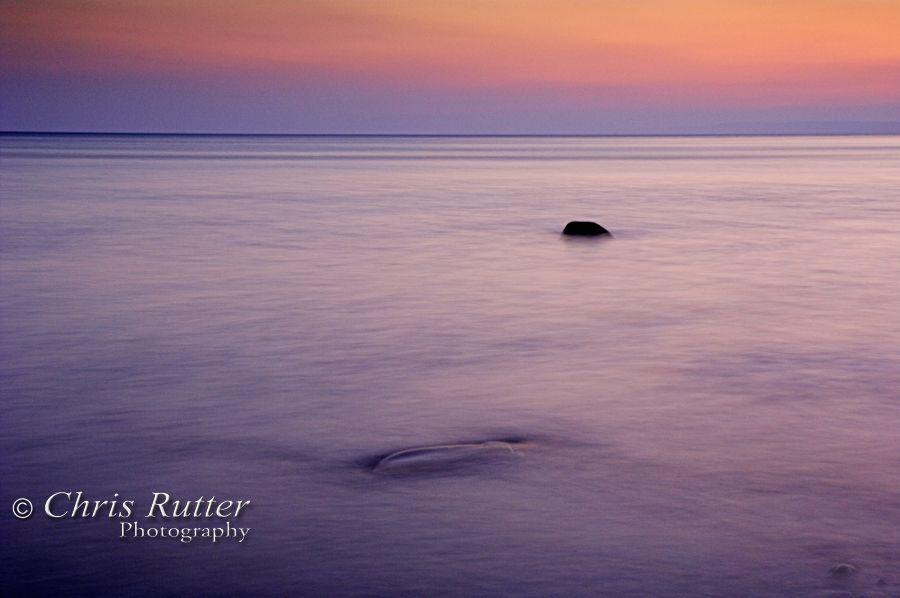 sea sunrise impression 1
