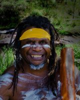 Indigenous Australian; 2nd place in Digital section; by Mike Winston