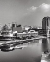 The Lowry; 3rd place in A section prints;by Mick McCabe