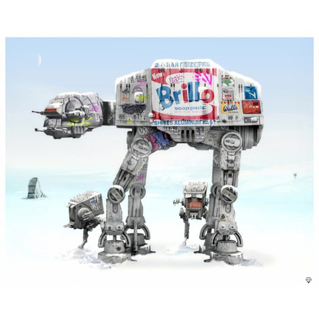 'Imeperial Walkers (At-At)' <span style=