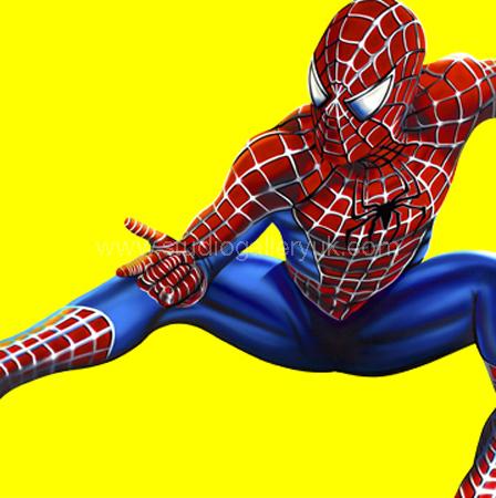 'Spiderman' (Yellow)