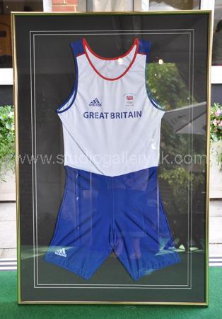 Steve Williams OBE Olympic Gold Beijing 2008