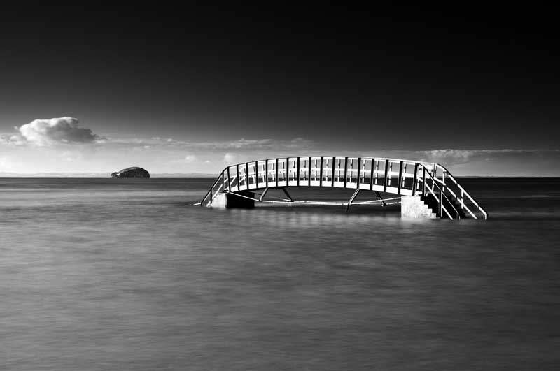 Belhaven bridge0006b&w