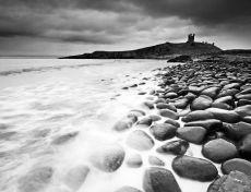 Dunstanburgh castle0028-43b&w